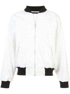 куртка-бомбер с пайетками Enfants Riches Déprimés