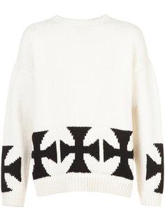 свитер с крестами Enfants Riches Déprimés
