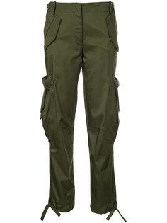 брюки карго  Moschino