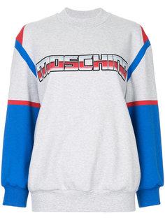 толстовка с логотипом Transformers Moschino