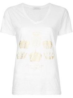футболка с V-образным вырезом  Pierre Balmain