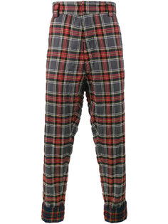 брюки с декоративными манжетами Haider Ackermann