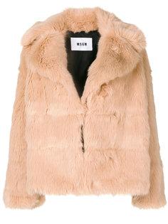 куртка с широкими лацканами  MSGM