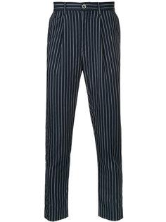 классические брюки в тонкую полоску Education From Youngmachines