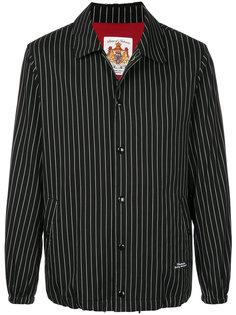 куртка-рубашка в тонкую полоску Education From Youngmachines