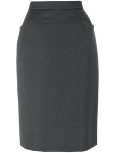 fitted pencil skirt Chanel Vintage