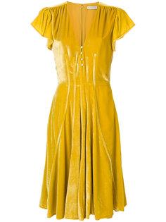 расклешенное платье с V-образным вырезом  Altuzarra