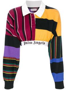 укороченный джемпер Palm Angels