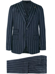 pinstripe three piece suit Gabriele Pasini