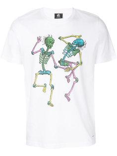 футболка с принтом скелетов Ps By Paul Smith