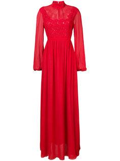 вечернее платье с длинными рукавами Giambattista Valli