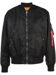 full zip bomber jacket Christian Dada