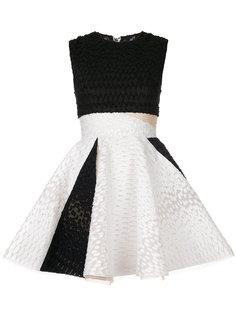 расклешенное платье мини Griffith Alex Perry