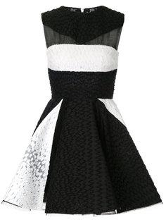 расклешенное платье мини Connor Alex Perry