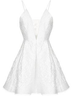 парчовое платье мини Dylan Alex Perry