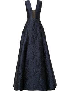 парчовое вечернее платье Bryce Alex Perry