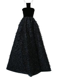 расклешенное вечернее платье Thorn Alex Perry