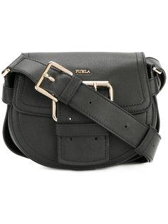 сумка на плечо с пряжкой Furla