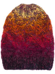 вязаная шапка с градиентным эффектом Missoni