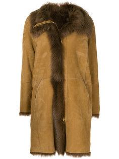 пальто с овечьей шерстью  Closed
