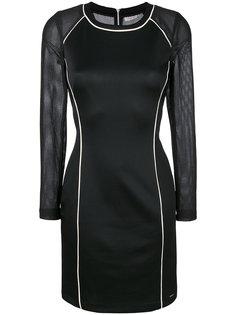 платье с сетчатыми вставками  Calvin Klein Jeans