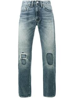 Vintage White Washed Denim Jeans Levis Vintage Clothing