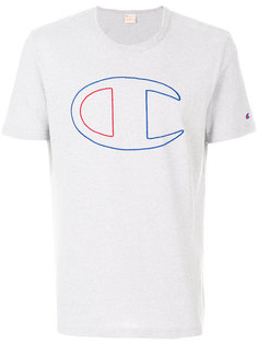 logo print T-shirt  Champion