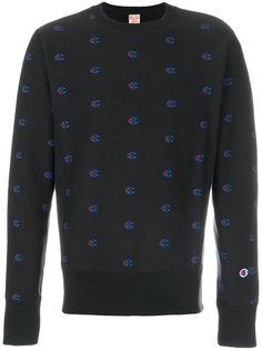 logo print sweatshirt  Champion