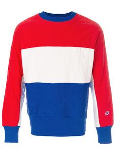 colour block sweatshirt  Champion