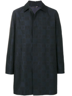 пальто в клетку Versace