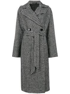 двубортное пальто с поясом  Tagliatore
