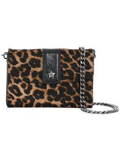 сумка на плечо с леопардовым узором Ash