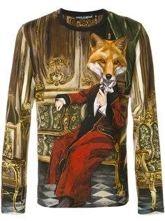 рубашка с принтом Dolce & Gabbana
