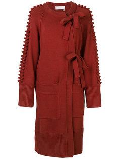 асимметричное пальто-кардиган Chloé