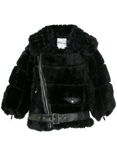 cropped belt jacket  Comme Des Garçons Noir Kei Ninomiya