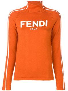 свитер-водолазка  Fendi