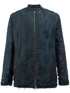 жаккардовая куртка с цветочным рисунком By Walid