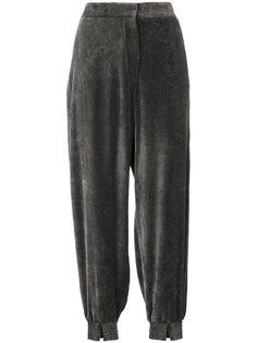 бархатные строгие брюки  Stella McCartney