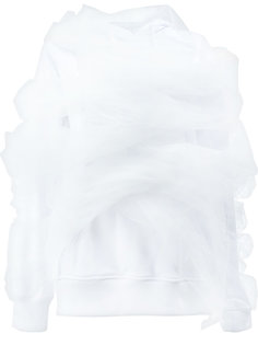 свитер с капюшоном и оборками на рукавах Y / Project