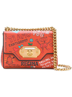 сумка с разными надписями Dolce & Gabbana