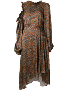 платье с асимметричным подолом Magda Butrym
