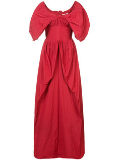 ruched detail gown Brock Collection