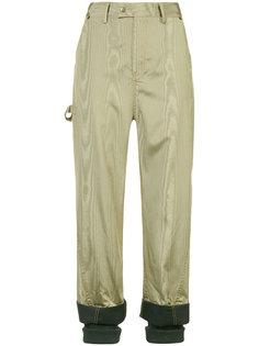 брюки с контрастными манжетами Rosie Assoulin