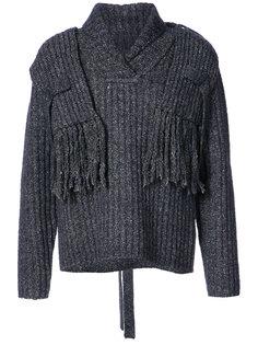свитер с элементом шарфа Craig Green
