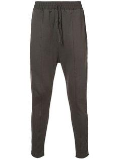 брюки с заниженным шаговым швом Damir Doma