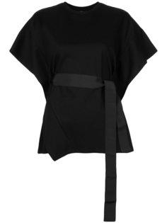 асимметричная блузка с поясом  Le Ciel Bleu
