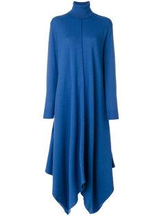 длинное асимметричное платье  Stella McCartney