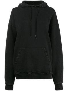 oversized long sleeve hoodie R13