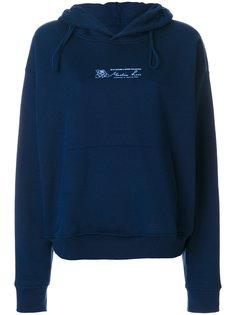 printed hoodie  Martine Rose