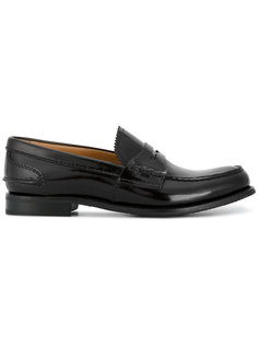 Pembrey 20 Polished Leather Loafers Churchs